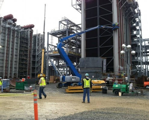 Progress Energy Natural Gas Power Plant